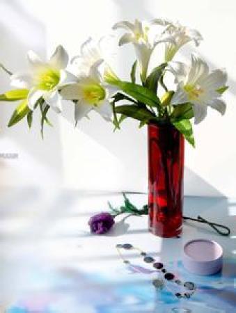 花瓶摆放得注意,风水学问得留心