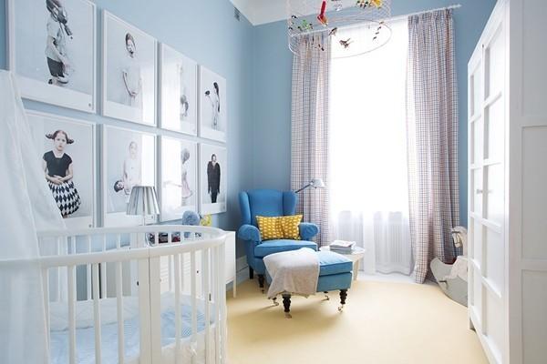 现代朴实的美式公寓房